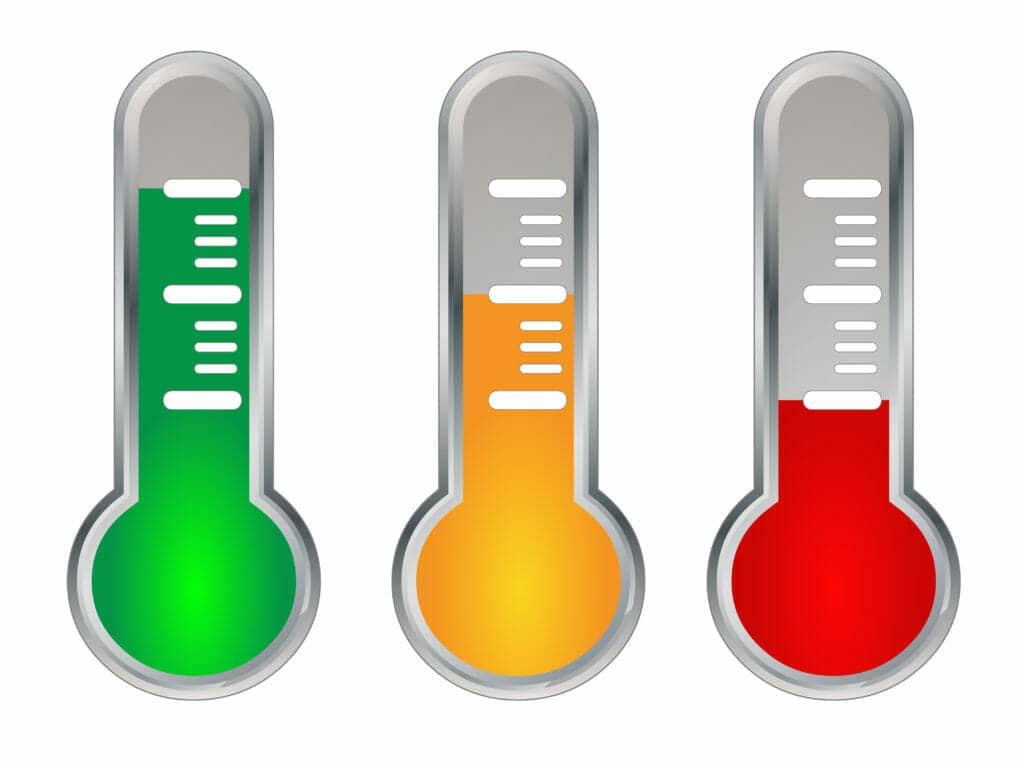 temperatura del trafico online